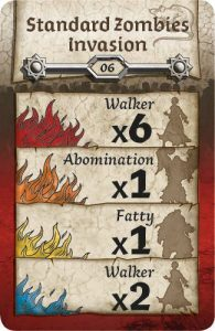 zombicide spawn card example black plague
