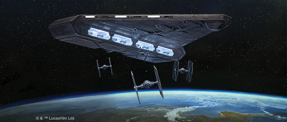 Star Wars: Armada - Wave 6 Light Carrier Preview